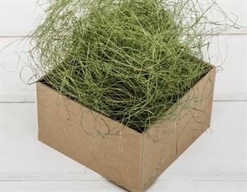 Сизаль декоративный, цвет болотно-зеленый, 50 грамм - фото 7223