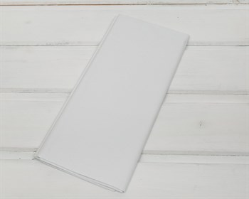 Бумага тишью, белая, 50х66 см 10 шт. - фото 7257