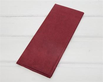 Бумага тишью, бордовая, 50х66 см 10 шт. - фото 7262