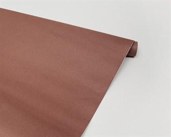 Бумага упаковочная, розово-коричневая, 70см х 7,3 м, 1 рулон - фото 7324