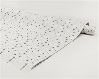 Бумага упаковочная, 70х100 см, геометрия, 1 лист - фото 7366
