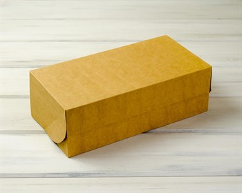 Коробка для выпечки и пирожных, 33х16х11 см, крафт - фото 7385