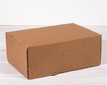 УЦЕНКА Коробка для посылок, 31х21х12,5 см из плотного картона, крафт - фото 7441