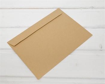 Конверт бумажный С5, 162х229мм, крафт (отрывная лента) - фото 7467