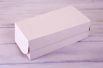 Коробка для капкейков/маффинов на 8 шт, 33х16х11 см, белая - фото 7564