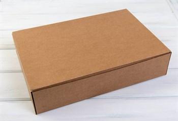 Коробка для капкейков/маффинов на 24 шт, 46х31х8 см, крафт - фото 7569
