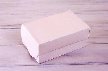 Коробка для капкейков/маффинов на 6 шт, 25х16х11, белая - фото 7623