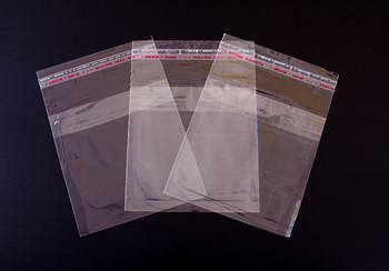 Пакет  с клейкой лентой 12,5х12,5 см, прозрачный - фото 7666