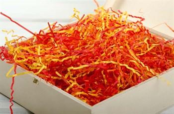 Наполнитель бумажный №012  Микс: Огненный карнавал, 100 грамм - фото 7714