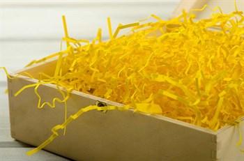 Наполнитель бумажный №018  Солнечный желтый, 100 грамм - фото 7716
