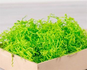 Наполнитель бумажный №024 Ярко-зеленый, 100 грамм - фото 7722