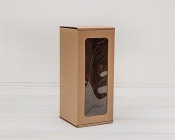 УЦЕНКА Коробка для кукол, с окошком, 25х11х11 см, крафт - фото 7829