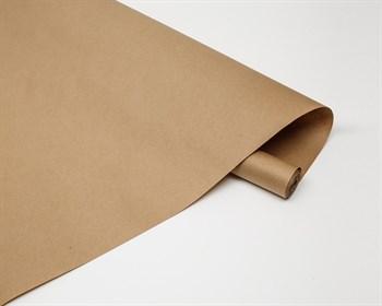 Бумага упаковочная, 70см х 10м, 60 гр/м2, крафт, 1 рулон - фото 8058
