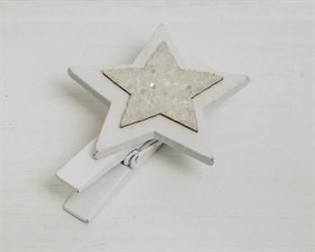 Набор украшений на прищепках Звезды, 6 шт - фото 8160