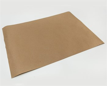 Бумага упаковочная, 42х60см, 78 гр/м2, крафт, 1 лист - фото 8177