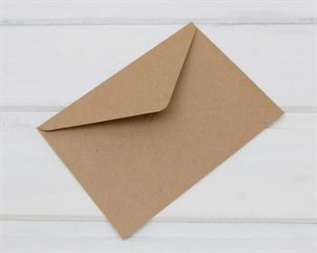 Конверт бумажный С6, 114х162мм, крафт (декстрин) - фото 8209