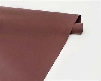 Пленка матовая, 50см х 10м, бордовая, 1 рулон - фото 8230