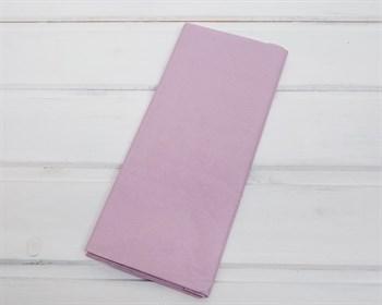 Бумага тишью, нежно-лиловая, 50х66 см, 10 шт. - фото 8275