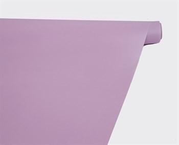 Пленка матовая, 59см х 10м, лиловая, 1 рулон - фото 8316