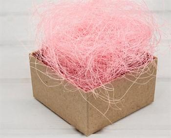 Сизаль декоративный, цвет розовый, 50 грамм - фото 8350