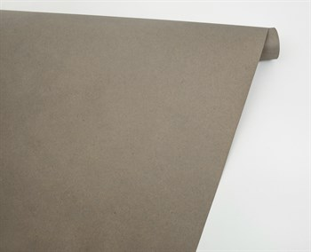 Бумага упаковочная, 70 гр/м2, серая , 70см х 10м, 1 рулон - фото 8403