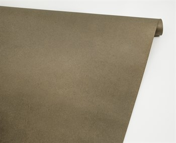 Бумага упаковочная, 70 гр/м2, хаки, 70см х 10м, 1 рулон - фото 8405