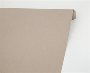 Бумага упаковочная, 70 гр/м2, светло-серая , 70см х 10м, 1 рулон - фото 8418