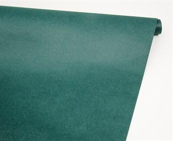 Бумага упаковочная, 70 гр/м2, изумрудная, 70см х 10м, 1 рулон - фото 8441