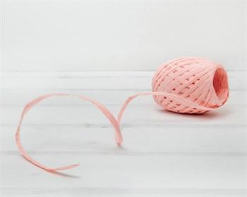 Рафия бумажная, розово-персиковая, 20 ярдов - фото 8497