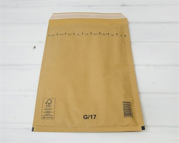 Пакет с воздушной подушкой  G/17, 210х330мм, крафт - фото 8531