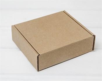Коробка для посылок 12,5х12х4 см, крафт - фото 8544
