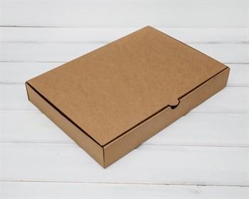 УЦЕНКА Коробка плоская 33х23х5 см, крафт - фото 8578
