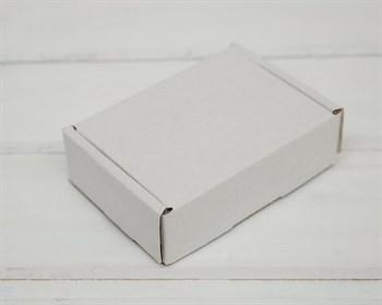 Коробка маленькая, 10х8х3 см, из плотного картона, белая - фото 8580