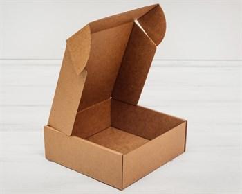 Коробка для посылок 19х19х8 см, крафт - фото 8589