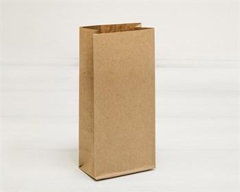 Крафт пакет бумажный, 17х8х5 см, коричневый - фото 8697