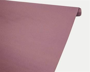 Бумага упаковочная, 70гр/м2, розовая лаванда, 70см х 10м, двусторонняя, 1 рулон - фото 8874