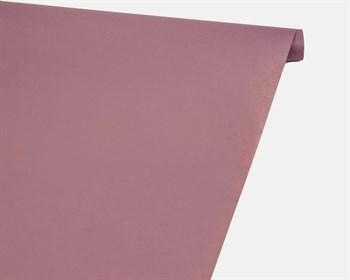 Бумага упаковочная, 40гр/м2, розовая лаванда, 72см х 10м, 1 рулон - фото 8878