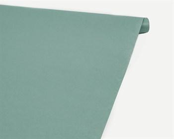 Бумага упаковочная, 40гр/м2, светло-бирюзовая, 70см х 10м, 1 рулон - фото 8881