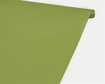 Бумага упаковочная, 40гр/м2, светло-зелёная, 72см х 10м, 1 рулон - фото 8886
