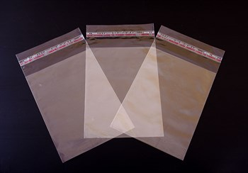 Пакет  с клейкой лентой 12,5х17 см, прозрачный, 100 шт. - фото 8960