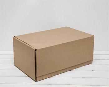 УЦЕНКА Коробка почтовая, тип Б, 42,5х26,5х19 см, крафт - фото 9121
