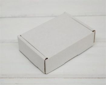 УЦЕНКА Коробка маленькая, 10х8х3 см, из плотного картона, белая - фото 9149