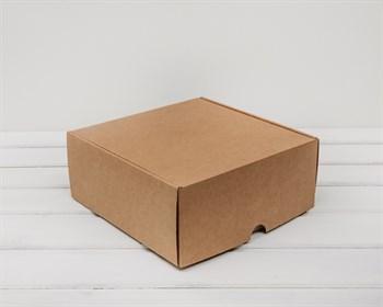 УЦЕНКА Коробка для посылок, 24х24х10 см, из плотного картона, крафт - фото 9183