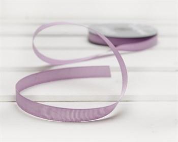 Лента репсовая, 12 мм, светло-лиловая, 27 м - фото 9441