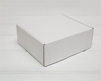 Коробка для посылок, 22х20х8,5 см, из плотного картона, белая - фото 9672
