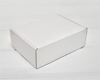 Коробка 20х15х7 см из плотного картона, белая - фото 9689