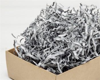Наполнитель бумажный №047  Дизайнерский серебряный, 50 грамм - фото 9792