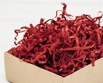 Наполнитель бумажный №049  Дизайнерский темно-красный, 50 грамм - фото 9794