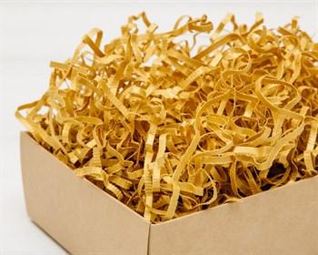 Наполнитель бумажный №046  Дизайнерский золотой, 50 грамм - фото 9795