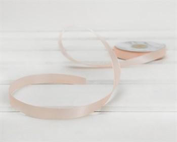 Лента атласная, 12 мм, нежно-розовая, 27 м - фото 9908